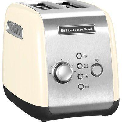 KitchenAid 5KMT2116BAC 2-Slice Toaster - Cream