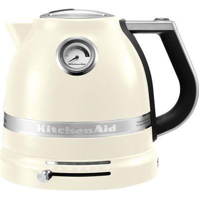 KitchenAid Artisan 5KEK1522BAC Traditional Kettle - Almond Cream