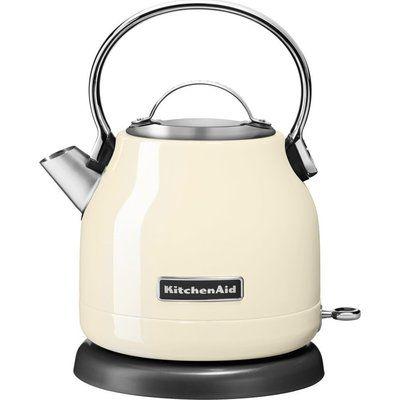 KitchenAid 5KEK1222BAC Traditional Kettle - Almond Cream