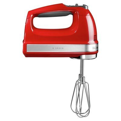 KitchenAid 5KHM9212BER Hand Mixer - Red
