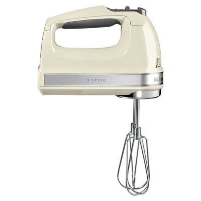 KitchenAid 5KHM9212BAC Hand Mixer - Almond Cream