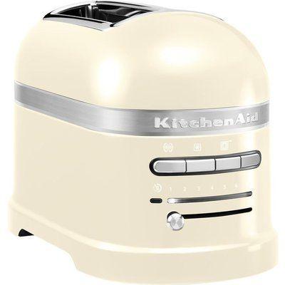 KitchenAid Artisan 5KMT2204BAC 2-Slice Toaster - Almond Cream