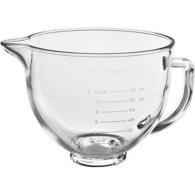 KitchenAid 5KSM5GB 4.7 l Mixing Bowl - Glass
