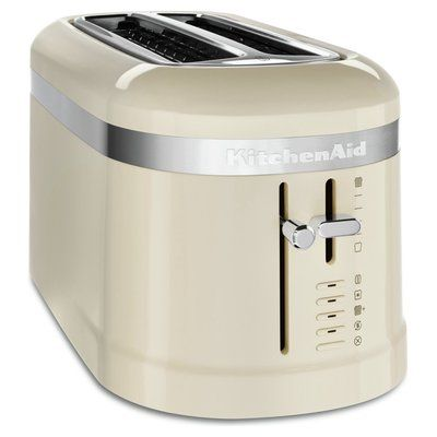 KitchenAid 5KMT5115BAC Design 4 Slice Toaster - Almond