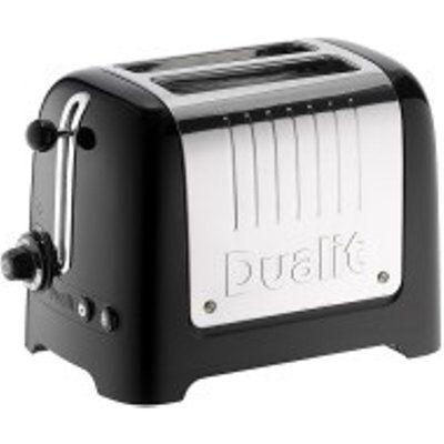 Dualit Lite 2 Slot Toaster 26205 - Black Gloss