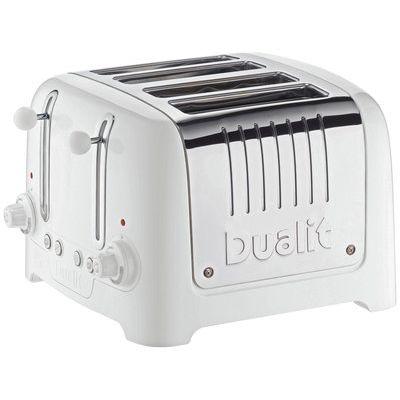 Dualit 46203 Lite 4 Slice Toaster - White