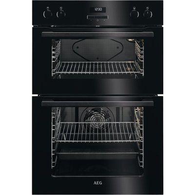 AEG DEE431010B Electric Double Oven - Black