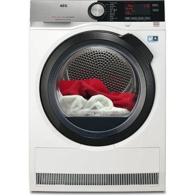 AEG Tumble Dryer AbsoluteCare T8DSC869C Heat Pump - White