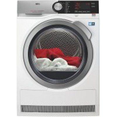 AEG T8DEC846R 8kg Load Heat Pump Tumble Dryer - White