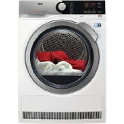 AEG T8DEE945R 8kg Load Heat Pump Tumble Dryer - White