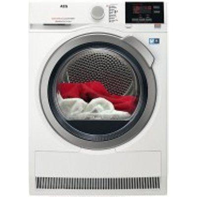 AEG T8DBG842R 8kg Load Heat Pump Tumble Dryer - White