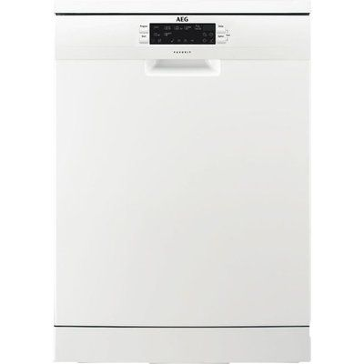 AEG FFE63700PW Standard Dishwasher - White
