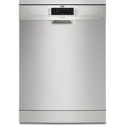 AEG FFE63700PM Full-size Dishwasher - Stainless Steel