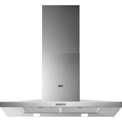 AEG DKB4950M Chimney Cooker Hood - Stainless Steel