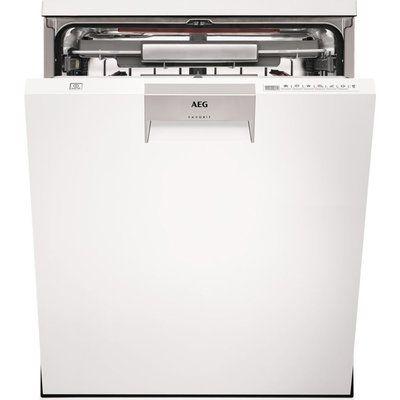 AEG ComfortLift FFE63806PW Full-size Dishwasher - White