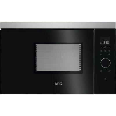 AEG MBB1756SEM Built-in Solo Microwave - Black & Stainless Steel