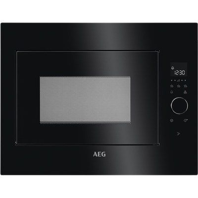 AEG MBE2658SEB 26L 900W Built-in Microwave Oven - Black