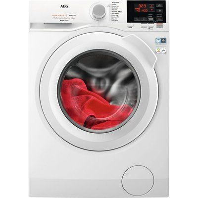 AEG L6FBG841CA 6000 Series 8kg 1400rpm Freestanding Washing Machine - White