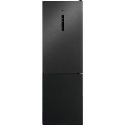 AEG RCB732E5MB CustomFlex Frost Free Freestanding Fridge Freezer - Dark Grey