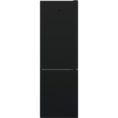 AEG RCB732E4MG TwinTech Freestanding Fridge Freezer - Black & Matt Glass