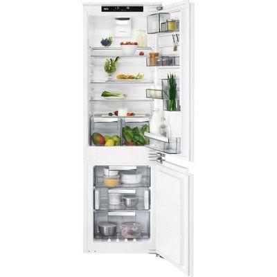 AEG SCE818E5TC Integrated 70/30 Frost Free Fridge Freezer - White