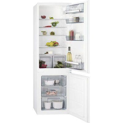 AEG SCB618F3LS Integrated 70/30 Fridge Freezer with Door slider Kit - White