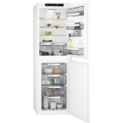 AEG SCE818E6NS Integrated 50/50 Frost Free Fridge Freezer - White