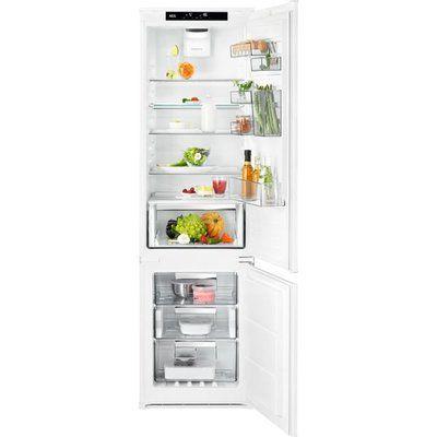 AEG SCE819E7TS Integrated 70/30 Frost Free Fridge Freezer - White