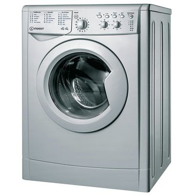 Indesit IWDC6125S 6kg Wash 5 Dry Load Washer Dryer - Silver