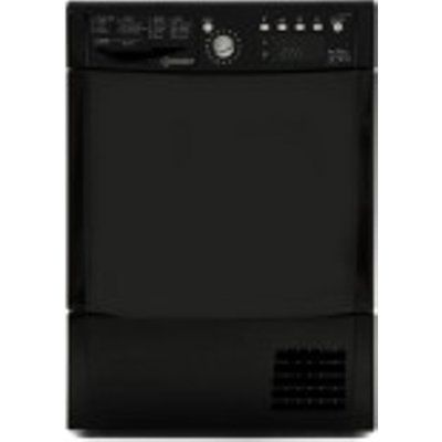 Indesit IDCE8450BKHUK Condenser Tumble Dryer- Black