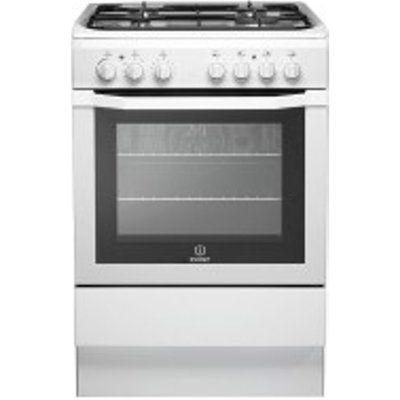 Indesit I6GG1W 60cm 58L Freestanding Gas Cooker
