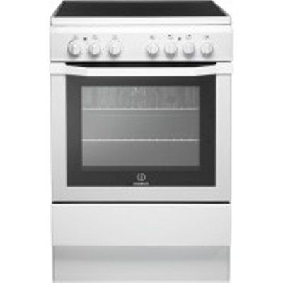Indesit I6VV2AW Electric Cooker with Ceramic Hob