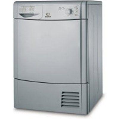 Indesit IDC8T3BS 8kg Freestanding Condenser Dryer - Silver