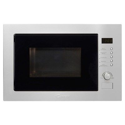 Candy MIC25GDFX-80 25L 900W Built-in Microwave With Grill - Stainless Steel