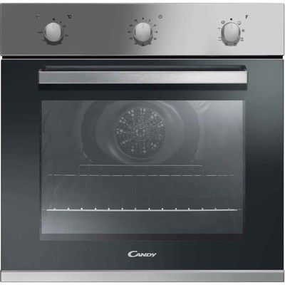 Candy FCP602X/E 8 Function Electric Built-in Single Oven - Stainless Steel