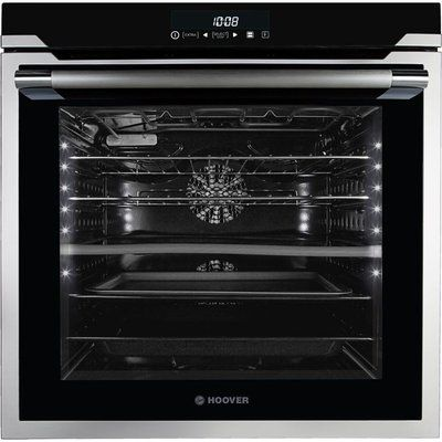 Hoover HOAZ8673 IN/E Electric Oven - Black & Stainless Steel