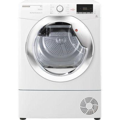 Hoover Tumble Dryer Dynamic Next DX H9A2DCE NFC 9 kg Heat Pump - White