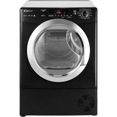 Candy GrandO Vita GVSH9A2DCEB 9Kg Heat Pump Tumble Dryer - Black