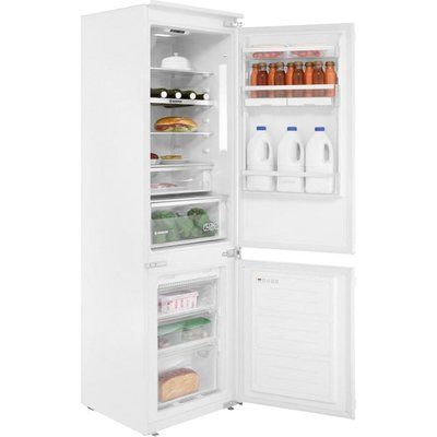 Hoover BHBF172NUK 250 Litre Integrated Fridge Freezer 70/30 Split 177cm Tall A+ Energy Rating 54cm Wide - White
