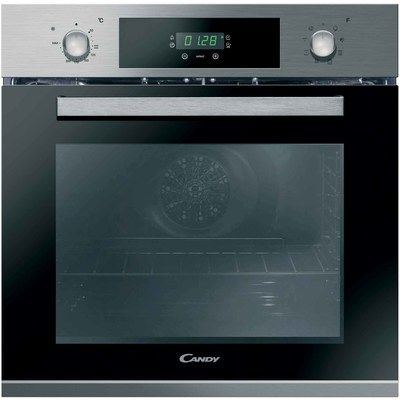 Candy FCP615X/E 8 Function Electric Built-in Single Oven - Stainless Steel