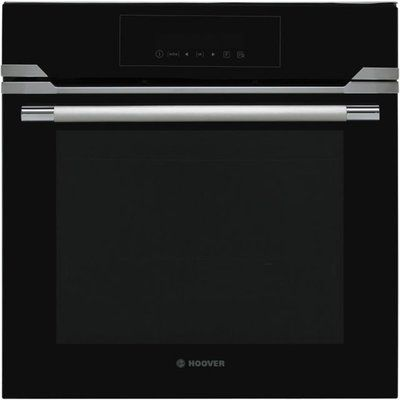 Hoover HOZP717IN/E Vogue Premium Touch Control 70L Multifunction Single Oven - Black - Plug-in Possibility