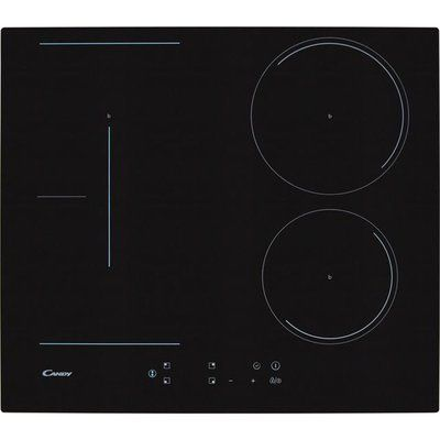 Candy CCTP643 59cm Induction Hob - Black