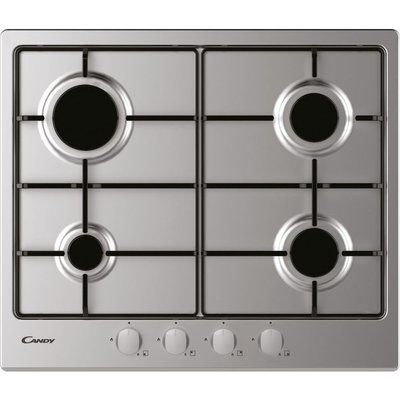 Candy CHW6BRX Gas Hob - Stainless Steel