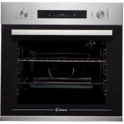 Candy FCP602X E0/E Black Built-in Electric Single Electric Oven