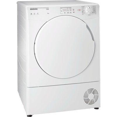 Hoover Link HL C8LF NFC 8 kg Condenser Tumble Dryer - White