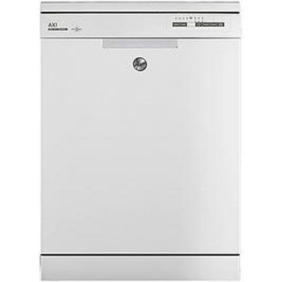 Hoover AXI HDPN1L390OW Standard Dishwasher - White