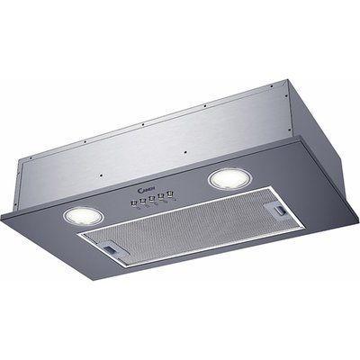 Candy CBG625/1X 52 cm Canopy Cooker Hood - Stainless Steel