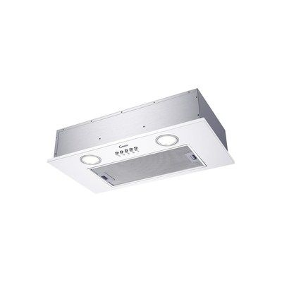 Candy CBG625/1W 52cm Canopy Cooker Hood - White