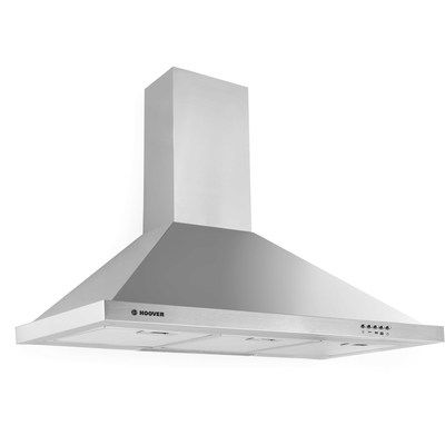 Hoover HCE190X 90cm Chimney Cooker Hood - Stainless Steel