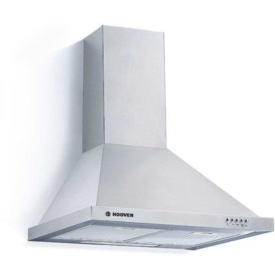 Hoover HCE160X 60cm Chimney Cooker Hood - Stainless Steel